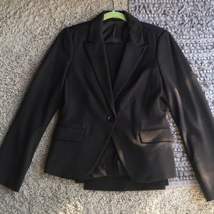 Express chocolate brown suit